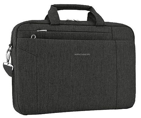 725bcaea091e KROSER Laptop Bag 15.6 Inch Briefcase Shoulder Messenger Bag Water  Repellent Laptop Bag Satchel Tablet Bussiness