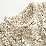 Anbaby Little Boy's Knit Sweater Vest Kids Round