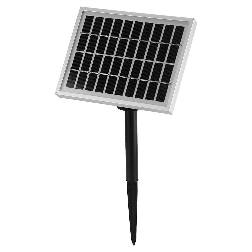 GLOGLOW Solar Powered Water Pump Fountain, 1.8W 9V Solar Panel Brushless Water Cycle Pond Rockery Fountain Kit for Bird Bath,Small Pond and Water Circulation