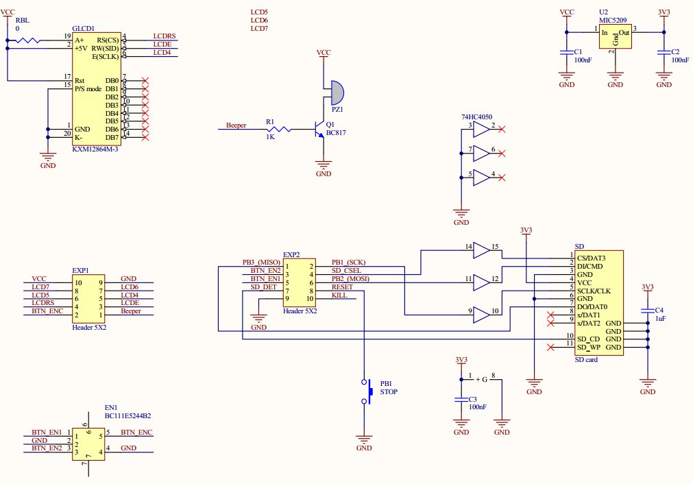 Ramps 1 4 Wiring Diagram Reprap Ramps 14 Marlin Firmware Wire
