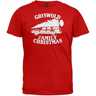 amazoncom national lampoons griswold family christmas vacation t shirt clothing