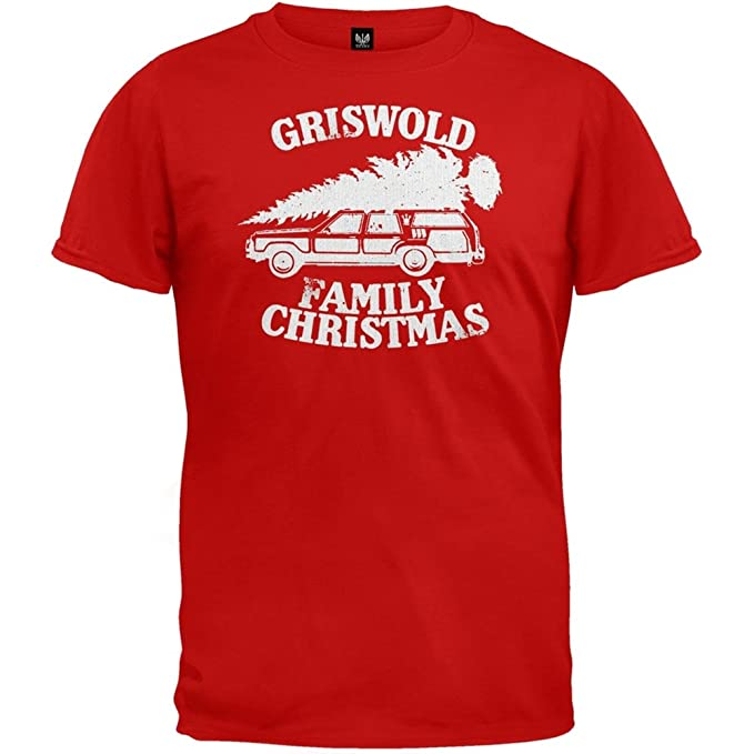 Griswold Family Christmas.Old Glory Christmas Vacation Griswold Family Christmas Red T Shirt
