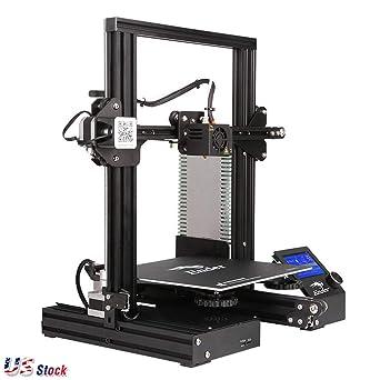 US Stock - Creality Ender3 Impresora 3D Reanudación Impresión OSHW ...