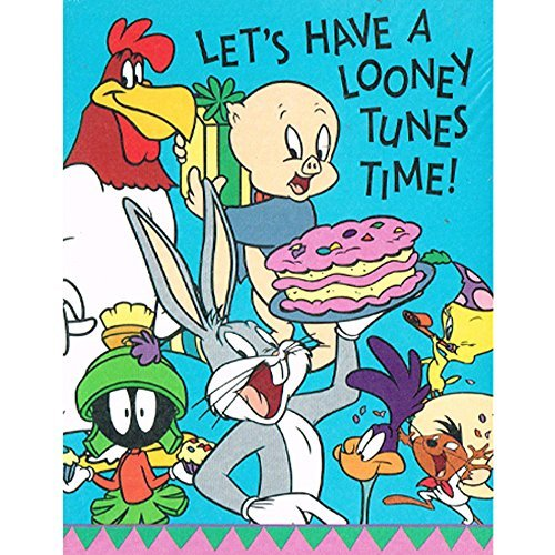 Looney Tunes Vintage Invitations w/ Envelopes (8ct)