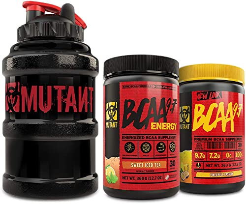 Mutant BCAA 9.7 BCAA 9.7 Energy Mega Mug Bundle