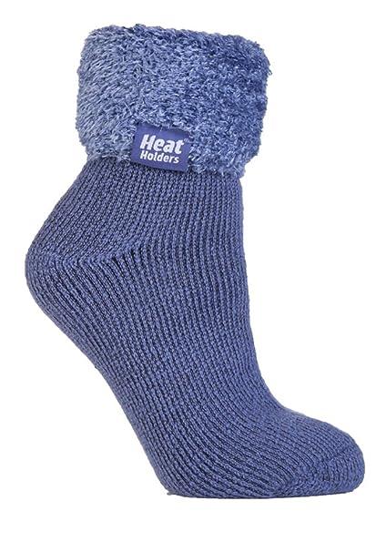 d723d155633 Ladies Thermal Warm Heat Holders Lounge Bed Socks UK 4-8