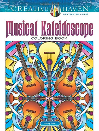 Creative Haven Musical Kaleidoscope Coloring Book (Adult Coloring)