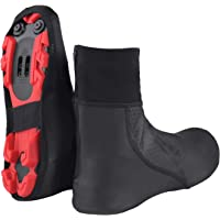 Santic Cycling Overshoes Thermal Cycling Shoe Cover Windproof Cycling Gaiters
