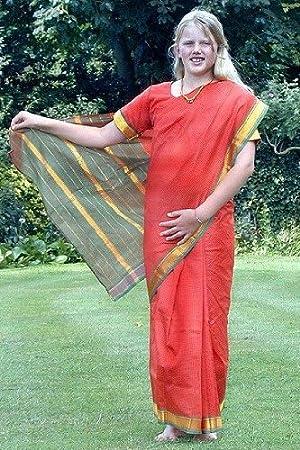 Sari - Disfraz de hindú para mujer, talla 2-4 años (GSA-