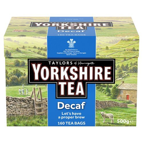 Taylors of Harrogate, Yorkshire Black Tea Decaf, 160 bolsas - 1 uni