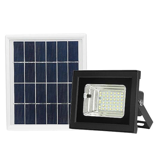 Lepeuxi Proyector con energía Solar LED 42 Cuentas de luz LED Luz ...