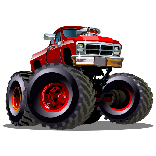 - Cool monster truck drag racing games free: Hot rod speedway racing