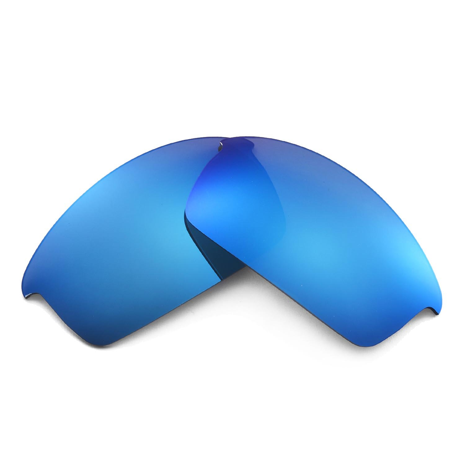 798958b929d8 Walleva Replacement Lenses for Oakley Bottlecap Sunglasses-Multiple Options  Available (Ice Blue Coated - Polarized) at Amazon Men's Clothing store: