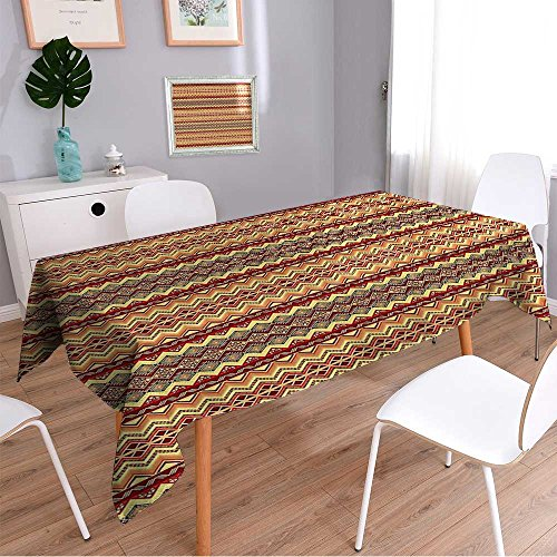 Linen Square TableclothUtah Plateau Mojave Desert Southwest Erosi Navajo Art Washable Table cloth Dinner Kitchen Home Decor/52W x 52L Inch by Liprinthome