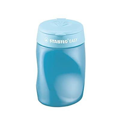 STABILO EASYsharpener for Left Handed - Blue : Pencil Sharpeners : Office Products