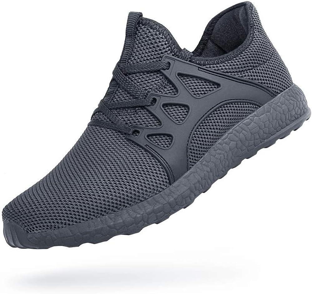 Feetmat Men's Sneaker Non Slip Gym Workout Shoes Slip Resistant Athletic Shoes