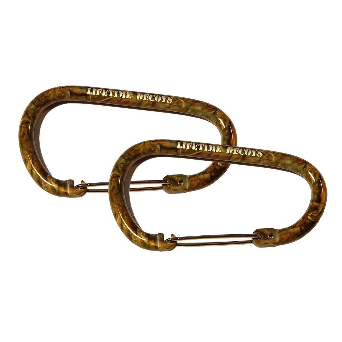 Lifetime Decoys 2 Pack Big Camo Carabiner