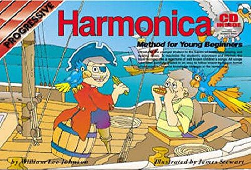 Harmonica Progressive (CP69140 - Progressive Harmonica Method for Young Beginners (Progressive Young Beginners))