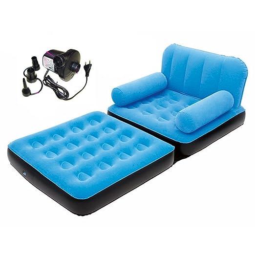 Hongyu Sofá Cama Hinchable Individual Inflable Doble sofá Cama ...