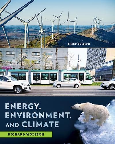 393622916 - Energy, Environment, and Climate (Third Edition)