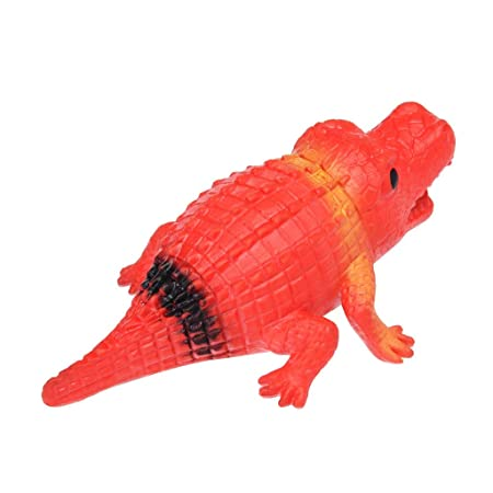 Squeeze Toy 14cm Crocodile Stress Ball Alternative Humorous Light Hearted Funny Toys (Red): Amazon.com: Grocery & Gourmet Food