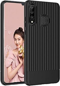 QITAYO Funda Huawei P30 Lite de Tup Suave Carcasa Antigolpes ...