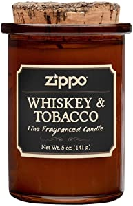 Zippo Spirit Candle - Whiskey and Tobacco - 5 oz.