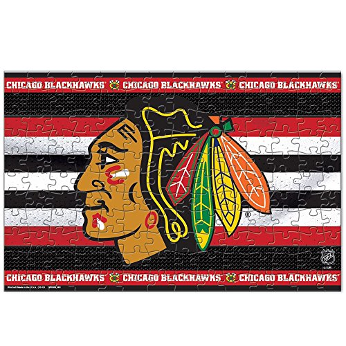 CHICAGO BLACKHAWKS OFFICIAL LOGO 150 PIECE JIGSAW PUZZLE by NHL
