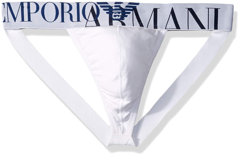 Emporio Armani UNDERWEAR メンズ B07DMHPB6L ホワイト Large Large|ホワイト