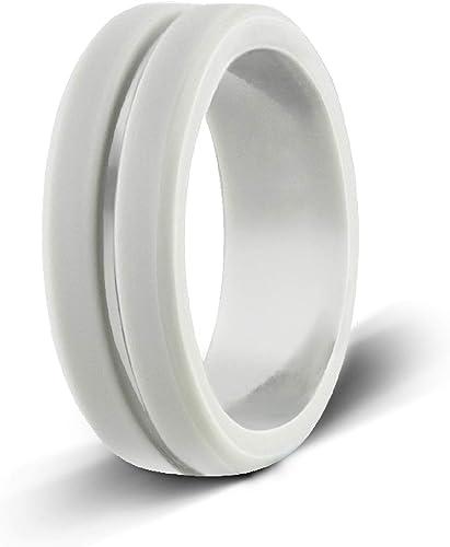 Egnaro Silicone Wedding Ring Rubber Ring Premium Silicone