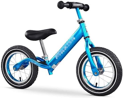 Bicicleta Sin Pedales Ultraligera Niños Equilibrio Bicicleta Niños Niñas Regalo de cumpleaños Niños pequeños Deporte Bicicleta para correr para 2 3 4 5 6 7 8 años de edad Entrenamiento Bicicleta ajust: Amazon.es: Hogar