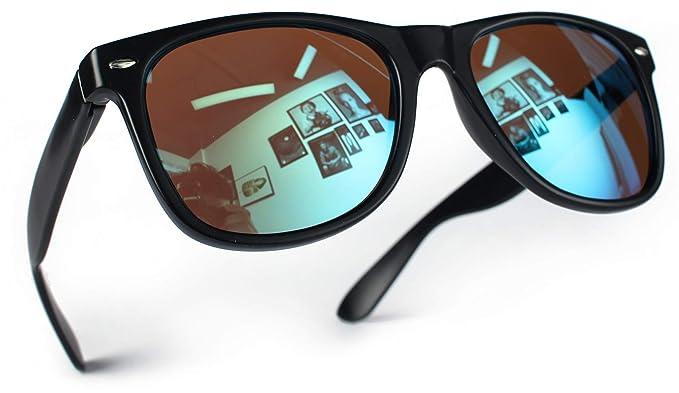 Miobo UV400 CAT 3 CE Nerd Gafas de sol retro vintage, gafas ...