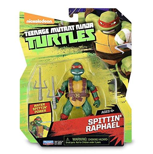 Tortues Ninja–Animation Blister–Spitting raphaelo Giochi Preziosi TUA67110