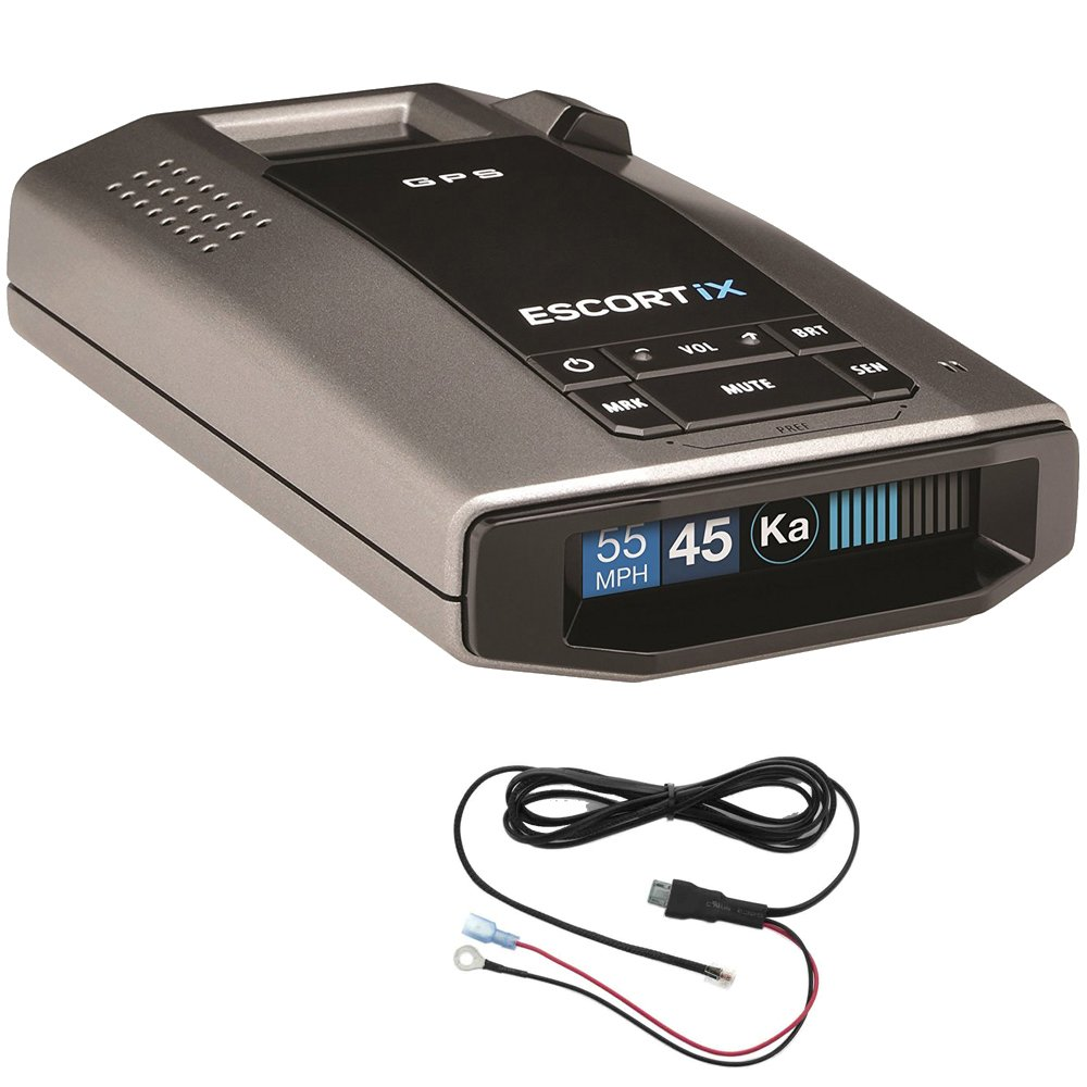 Escort Escort iX Radar Detector Power Bundle + Radar Detector Direct Wire Power Cord by Beach Camera (Image #1)