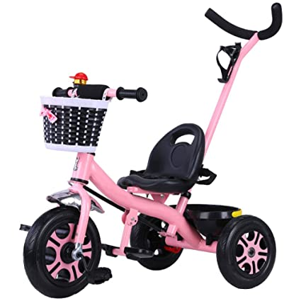 QXMEI Bicicleta De Triciclo para Niños DE 1-3 A 5 Años De Edad Bicicleta