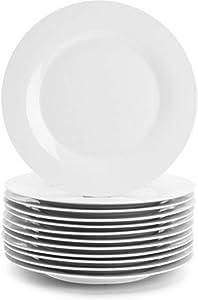 """Corelle 6003893 10-1/4"""" White Dinner Plate, 12 pack"""