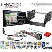 Volunteer Audio Kenwood DNX874S Double Din Radio Install Kit with GPS Navigation Apple CarPlay Android Auto Fits 2011-2013 Kia Sorento