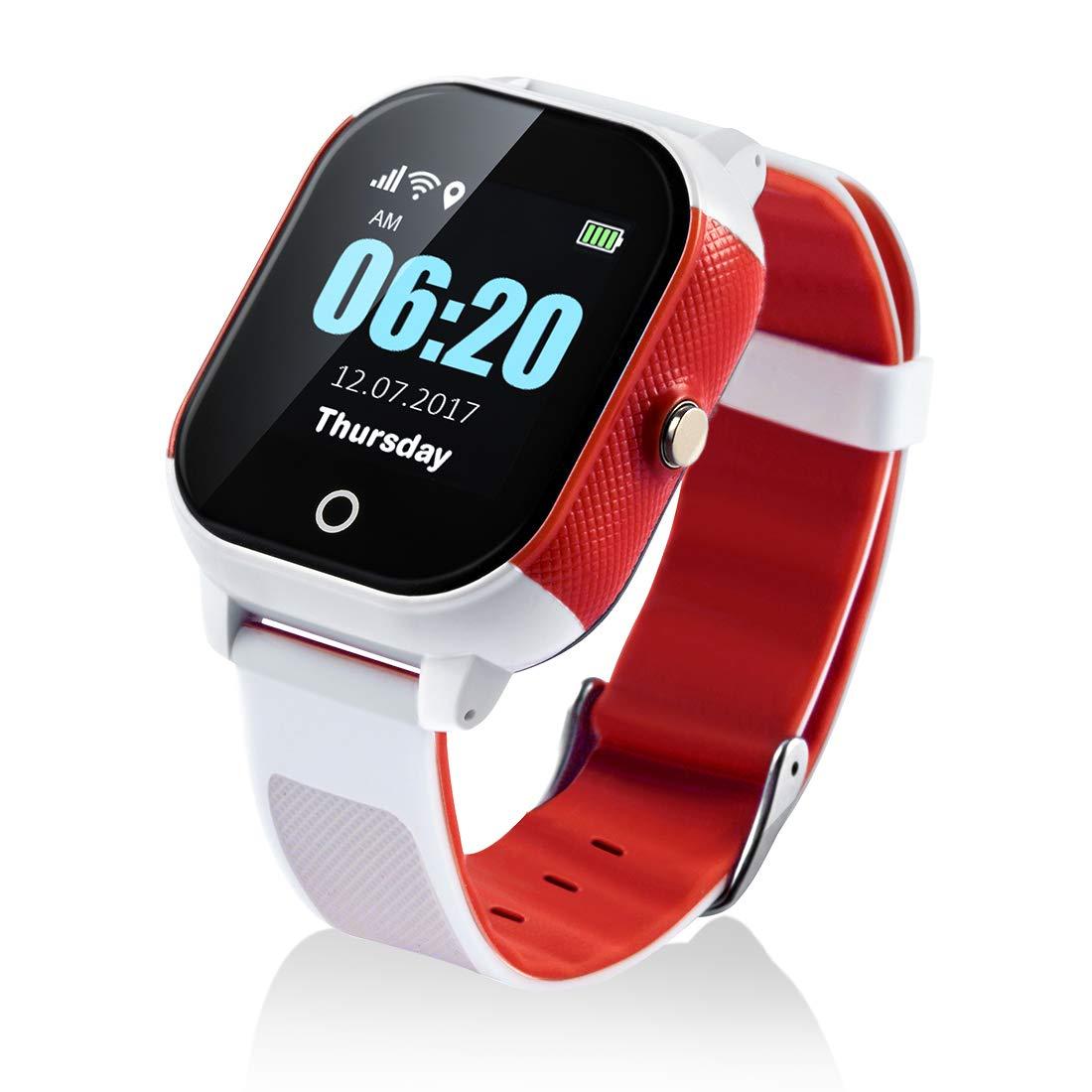 Reloj Inteligente para niños con GPS y Pantalla táctil ...