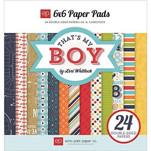 Echo Park Paper Company TMB60023 That's My Boy Pads