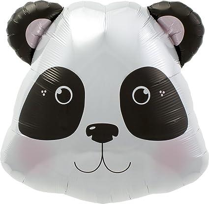 Amazon.com: Panda cabeza globos – 28 en (cada uno) 0076701 ...
