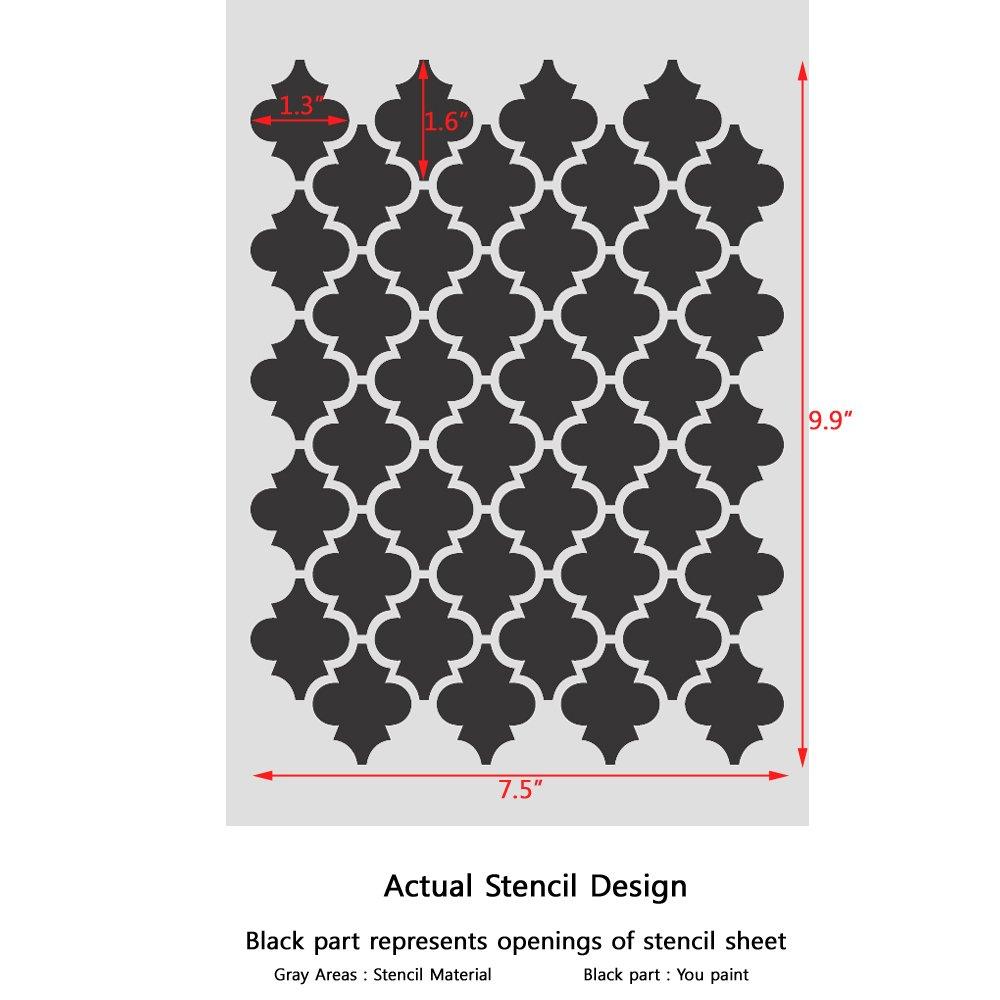 Amazon J Boutique Stencils Moroccan Stencils Template Small