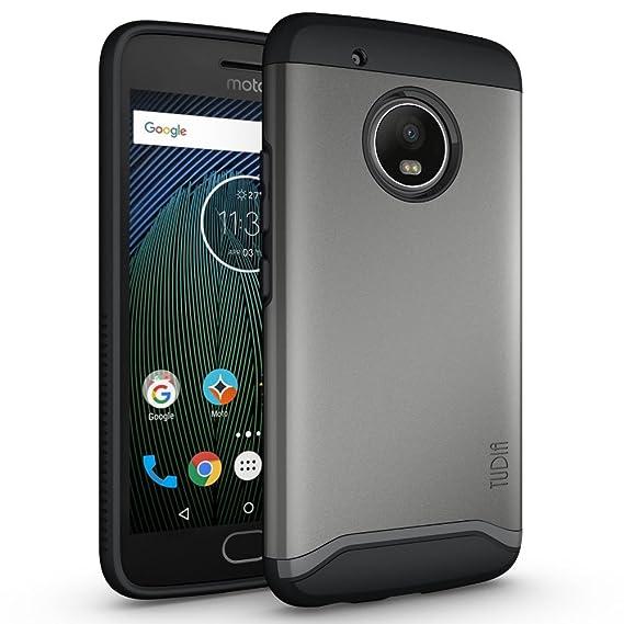 Amazon com: TUDIA Moto G5 Plus Case, Slim-Fit HEAVY DUTY
