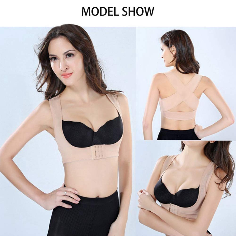 Adjustable Women Elastic Back Brace Belt Chest Posture Corrector Shoulder Body Shaper Corset Health Care