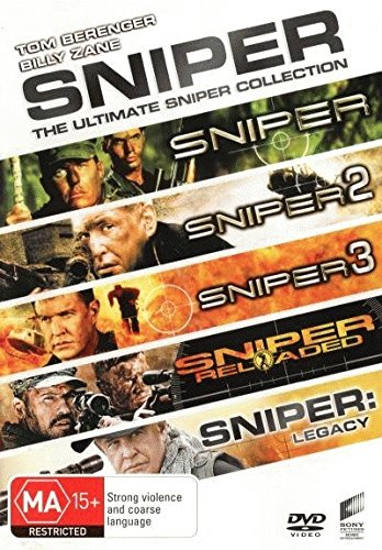 Sniper Collection Sniper / Sniper 2 / Sniper 3 / Sniper Reloaded / Sniper Legacy DVD