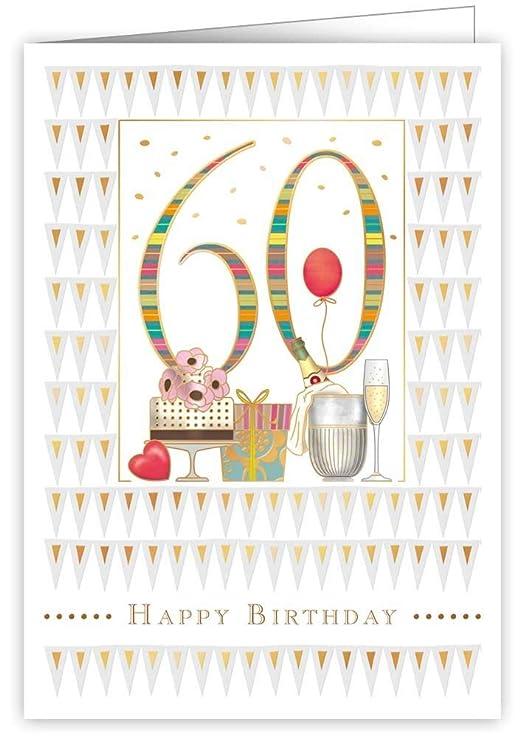 Quire Collections Mac Classic - Tarjeta de cumpleaños, 60.o ...