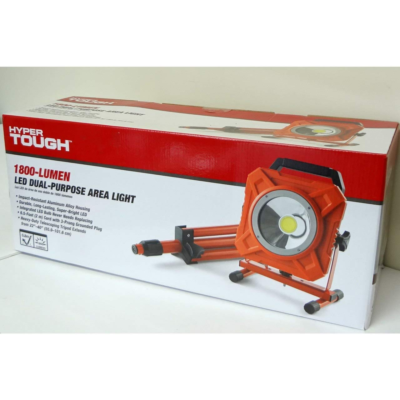 Amazon Com Hyper Tough Tl1175m 1800 Lumen Work Lamp