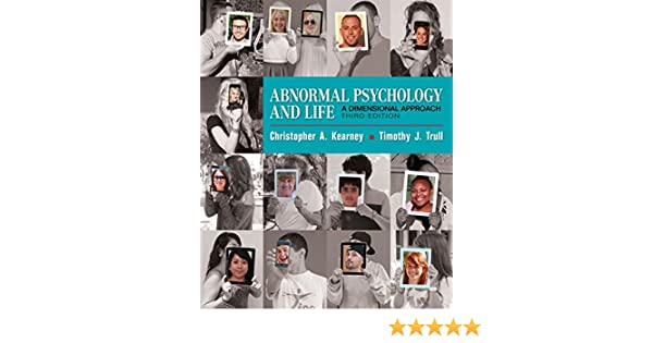 Amazon abnormal psychology and life a dimensional approach amazon abnormal psychology and life a dimensional approach mindtap course list 9781337098106 chris kearney timothy j trull books fandeluxe Choice Image