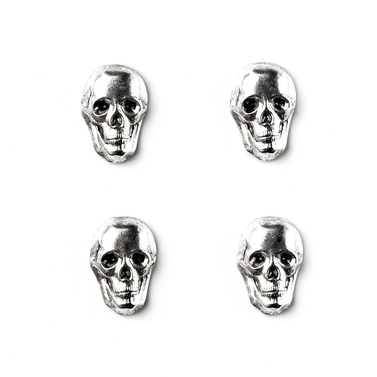 Quality Handcrafts Guaranteed Skull Tuxedo Studs