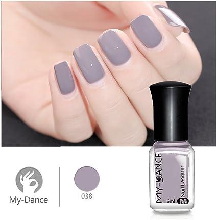 ❀ 6 ml Esmalte de uñas, Higlles brillante, esmalte de uñas de agua, gel semipermanente: Amazon.es: Belleza