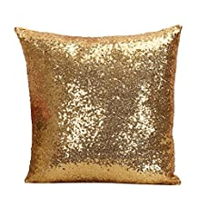 Sitong Luxurious Sequin Pillow Cushion Cover Pillow Luxurious Sequin Pillow Cushion